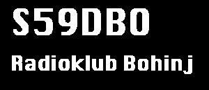 Radio klub Bohinj S59DBO